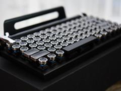 穿越到19世纪 大象复古机械键盘试玩