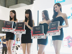 闪迪高性能SSD产品亮相2016 ChinaJoy