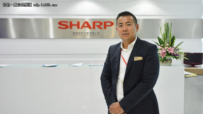 殷岭专访:夏普复合机弱势市场与增长点