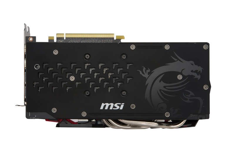 微星首款Radeon RX 480 GAMING X官方图