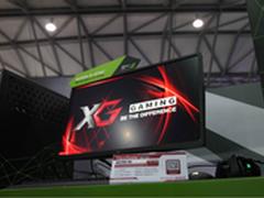 优派显示器重磅亮相2016CJ英伟达展台