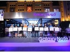 三星Galaxy Note7上市引王府井抢购热潮