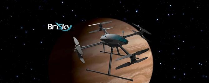 Brisky联手NVIDIA将在京发布无人机