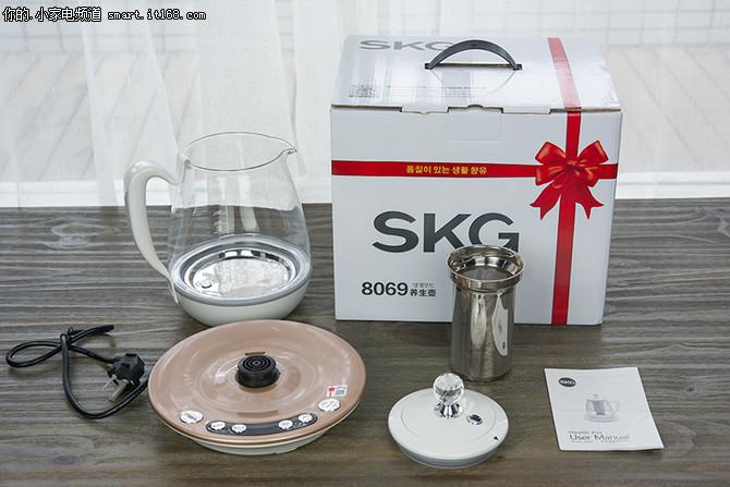 SKG多功能养生壶评测