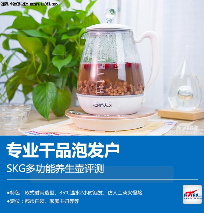 SKG多功能养生壶评测:外观细节介绍
