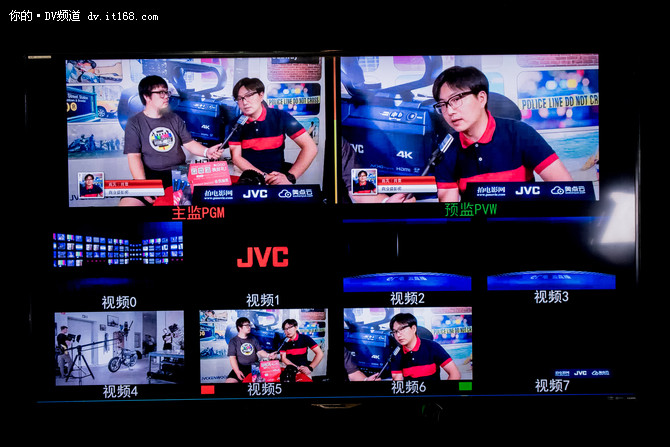 e广电云直播 JVC携众摄像产品亮相BIRTV