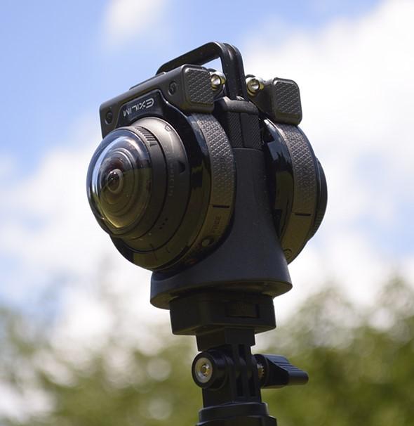 镜头可拆 卡西欧全景相机EX-FR200发布