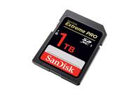 世界首款 闪迪1TB SD卡即将正式发售