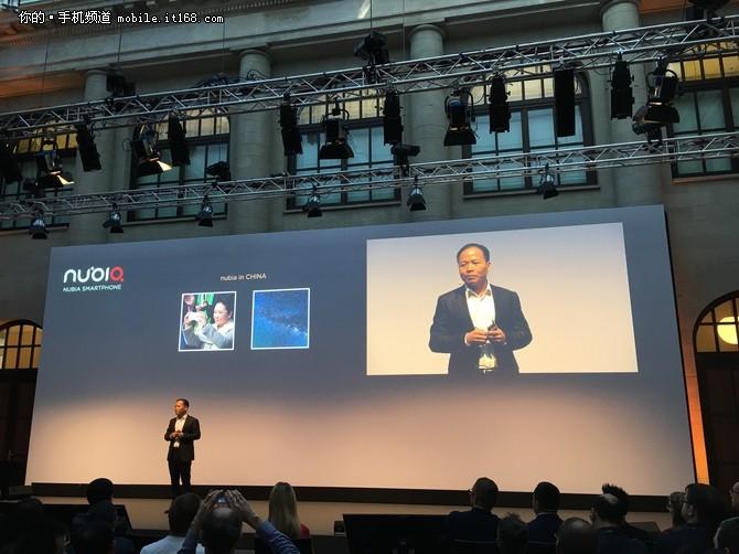 黑金无边框 努比亚德国IFA发布Z11全系