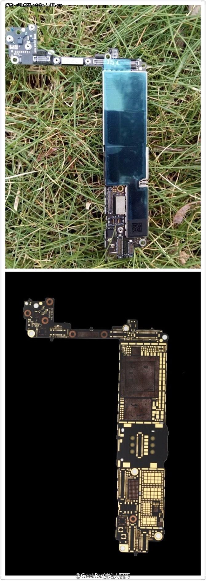 iPhone7主板芯片曝光 A10处理器有玄机