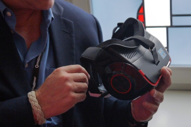 高通VR头盔:4K屏幕比Vive或Rift给力