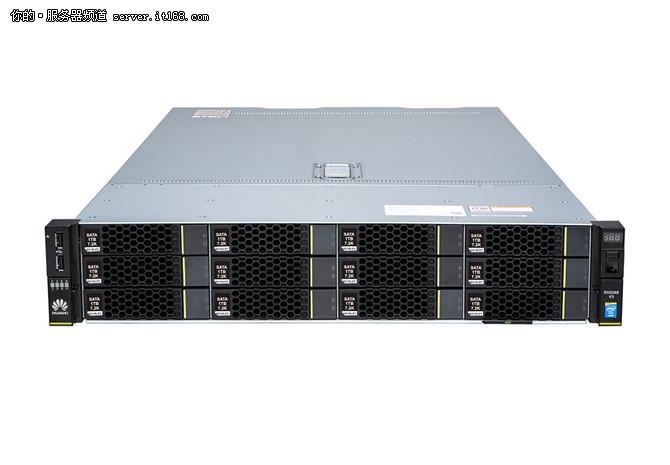 华为RH2288H V3服务器外形介绍