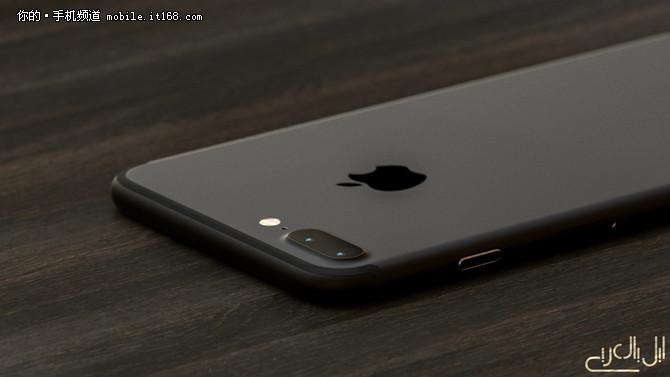 黑得与众不同 iPhone7黑色渲染图曝光