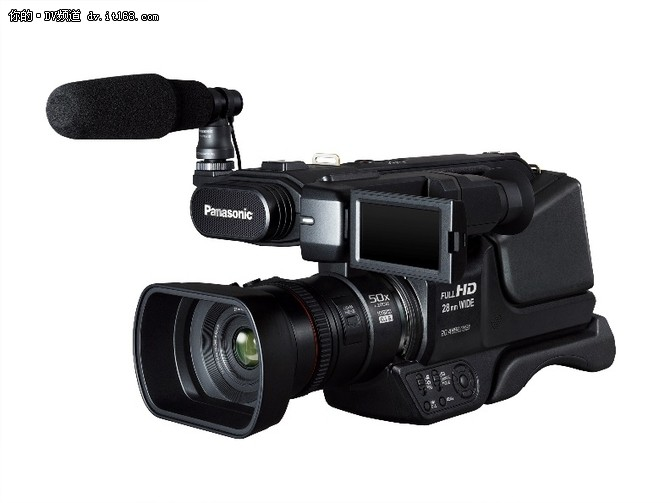 松下又一力作 手持摄像机HC-PV100发布
