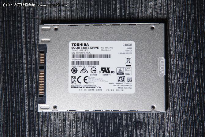 安全稳定高性能 东芝A100 240G SSD评测