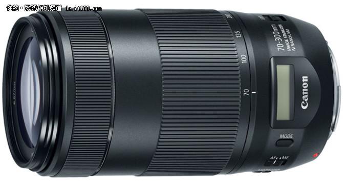 佳能发布18-150mm与新70-300mmII镜头