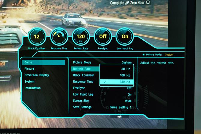 快速响应时间 超高刷新率 电竞游戏实测