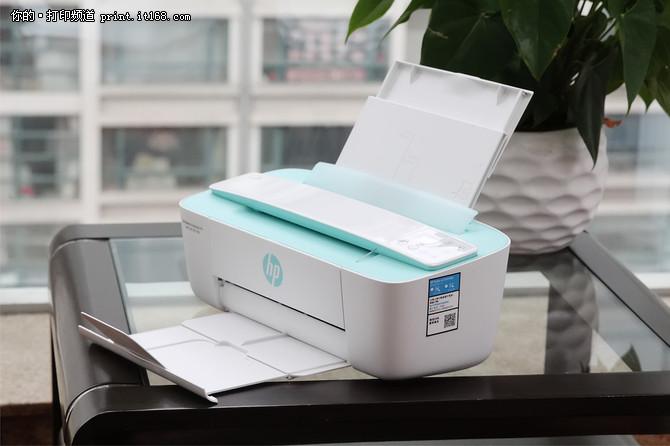 惠普HP DeskJet 377无线打印一体机
