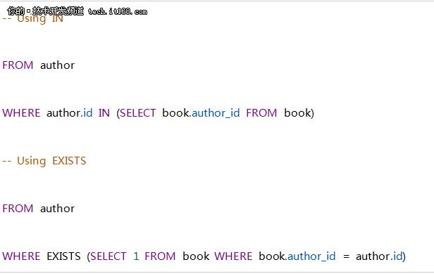 抛开程序员思维定式,简单几步掌握SQL