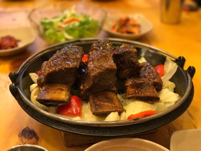 海亮体验04:带你去吃韩国最好吃的肋排