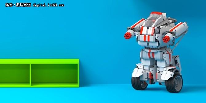 智能控制 499元米兔积木机器人发布