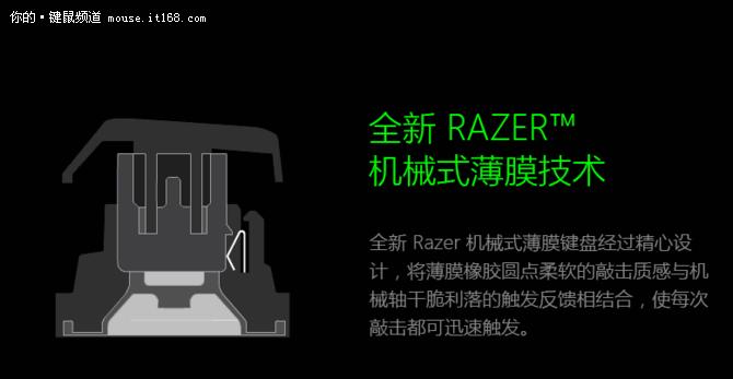 让樱桃骂脏话 雷蛇机械式薄膜键盘评测