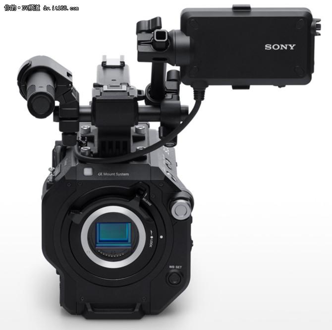 可变ND滤镜 索尼发布PXW-FS7 II摄像机
