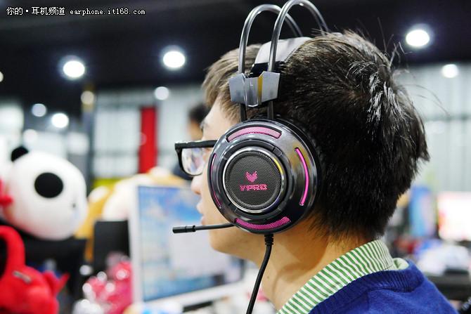 震动单元加持 雷柏VH600游戏耳机试玩
