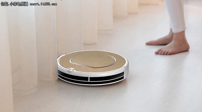 清扫能手 科沃斯智能扫地机器人1099元