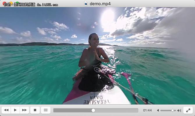 全景照片视频 VLC播放器还可以这样玩