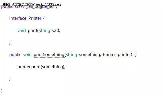 Java 8中的Lambda表达式实现