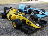 OpenRC F1赛车可以被3D打印 不信你来看