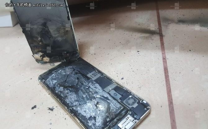 不是电池问题 iPhone6s充电后发生爆炸