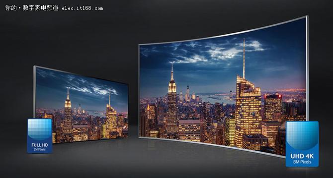 三星88英寸超高清4K曲面电视售168999元