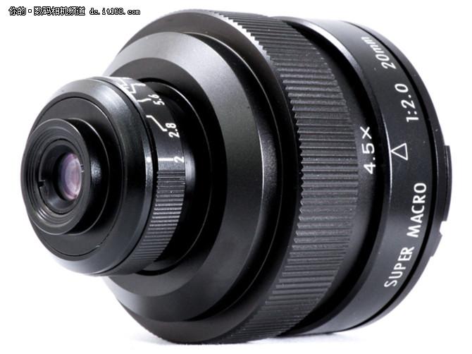 超微距 中一光学发布20mm f2 4.5x镜头