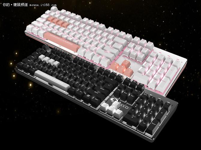 Akko EDG发布AKS104合作款机械键盘