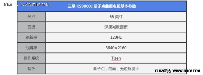 量子点旗舰 三星KS9800曲面电视评测