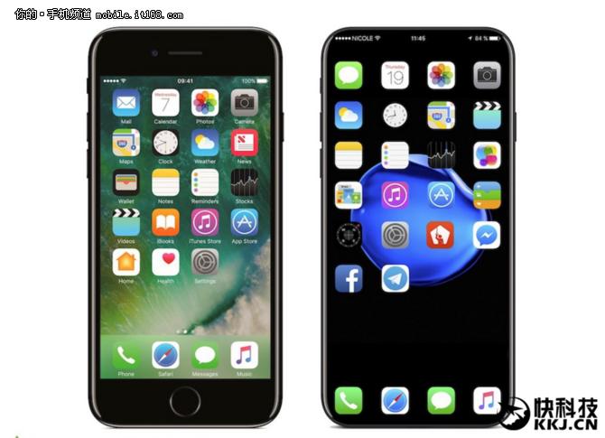 太喜欢了 苹果iPhone8新假想图