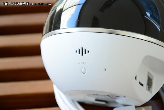 居家安保小能手 萤石C6T云台摄像机评测