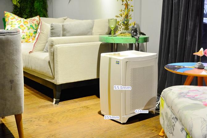 Dustie DAC700空气净化器外观颜值如何?