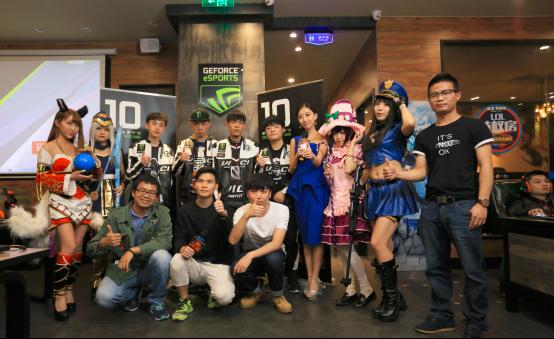 VG战队亲临!NVIDIA&七彩虹1080电竞馆