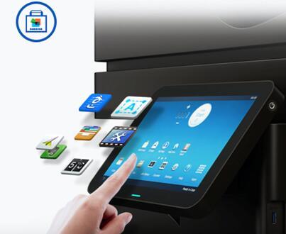 论商用打印机修养:智慧打印+无线传输