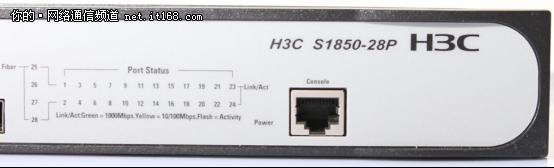 H3C-S1850-28P产品外观