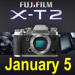 富士也玩换皮 碳晶灰版本X-T2明天发布