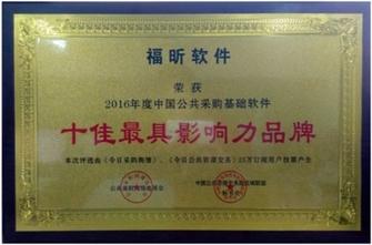 福昕软件荣获十佳最具影响力品牌