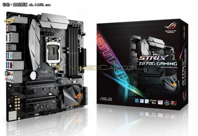 华硕Z270系列主板提前泄露