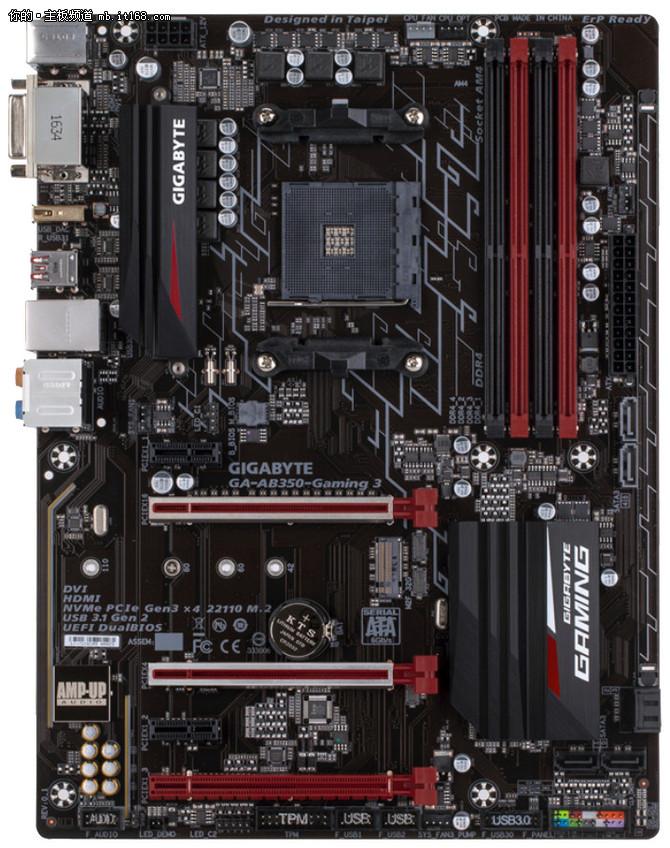 该有的都有了 AMD公布16款AM4接口主板