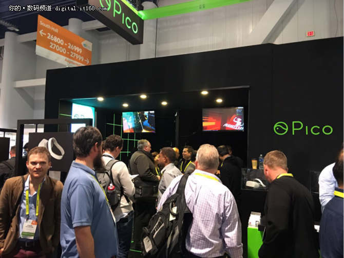 CES2017:Pico推出VR定位交互套件新品