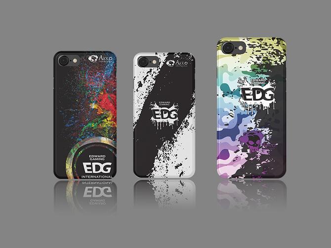 Akko EDG发布复古猫梦幻游戏鼠和手机壳