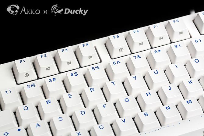 Akko X Ducky发布Zero 3108机械键盘